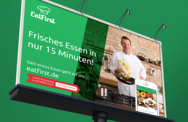 EATFIRST <br> – <br> Market launch germany